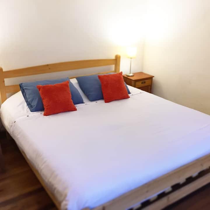 Gran cama con baño privado,  Valparaíso