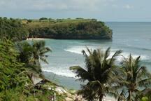 Visit around: Balangan beach