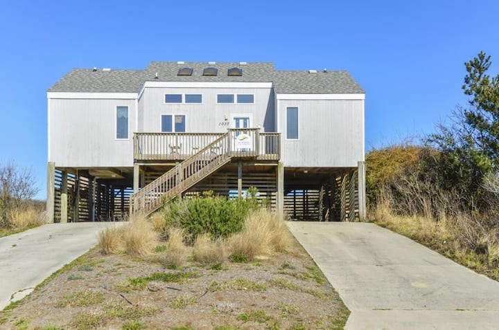 1222 Asher * Oceanfront * Dunetop Deck * Remodeled Bathrooms