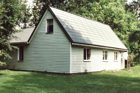 Zielony Domek koło Rymanowa Przełom Wisłoka relaks