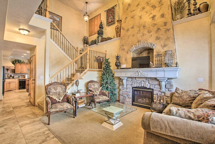 NEW! Luxe Powder Mtn Oasis w/ Hot Tub & Game Room!