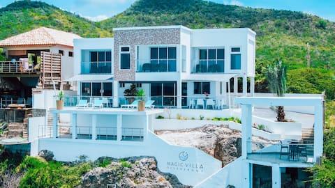 Magical Ocean view Villa, 4 persons