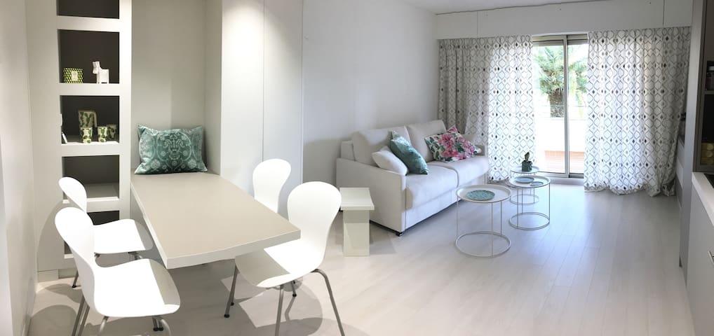 Studio design 30 M2, Piscine, Wifi, Proche Cannes - Mandelieu-la-Napoule - Lejlighed