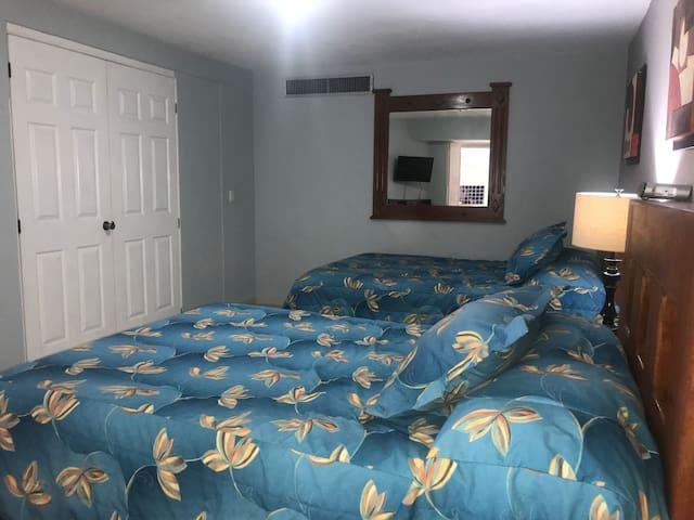 Habitación con dos camas /Bedroom with two beds
