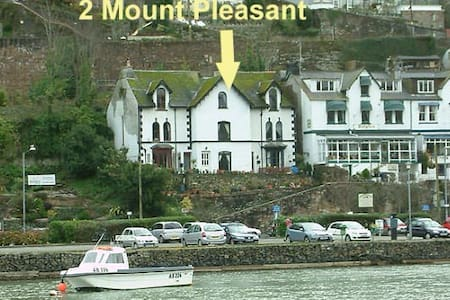Double bedroom in Victorian house - Looe - Casa