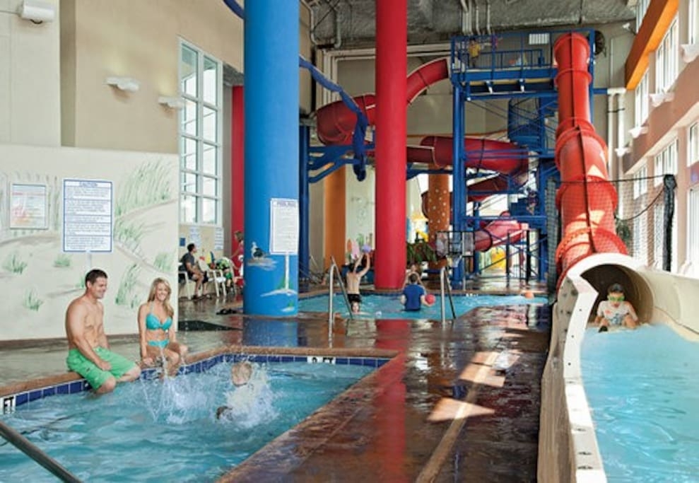 Adult size water slides
