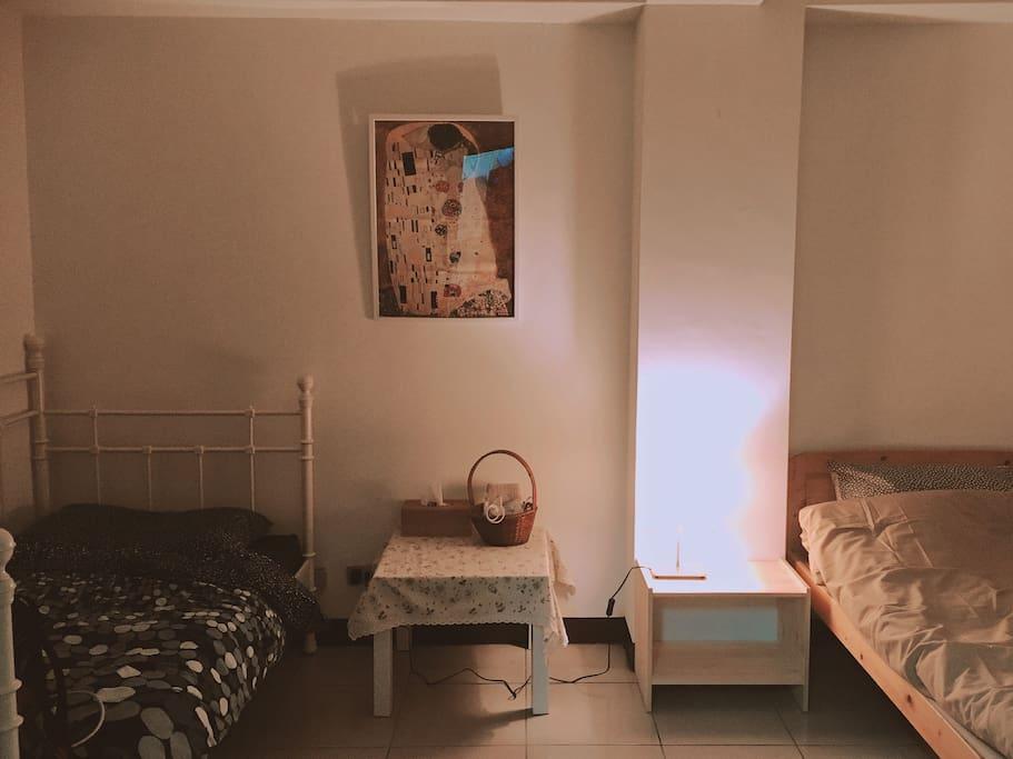 Twin bed 適合一起旅遊的好友、閨蜜
