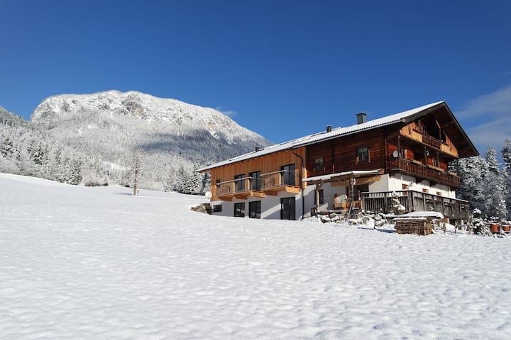 Spacious Apartment near Ski Area in Itter