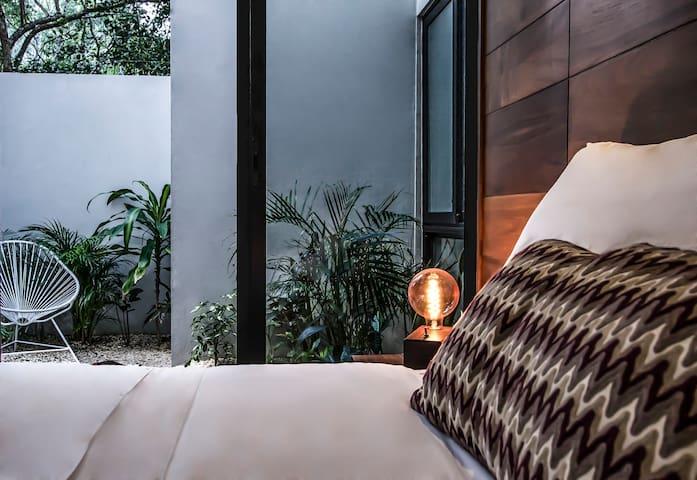Zimmer in Luxusvilla / Pool - Aldea Zama2