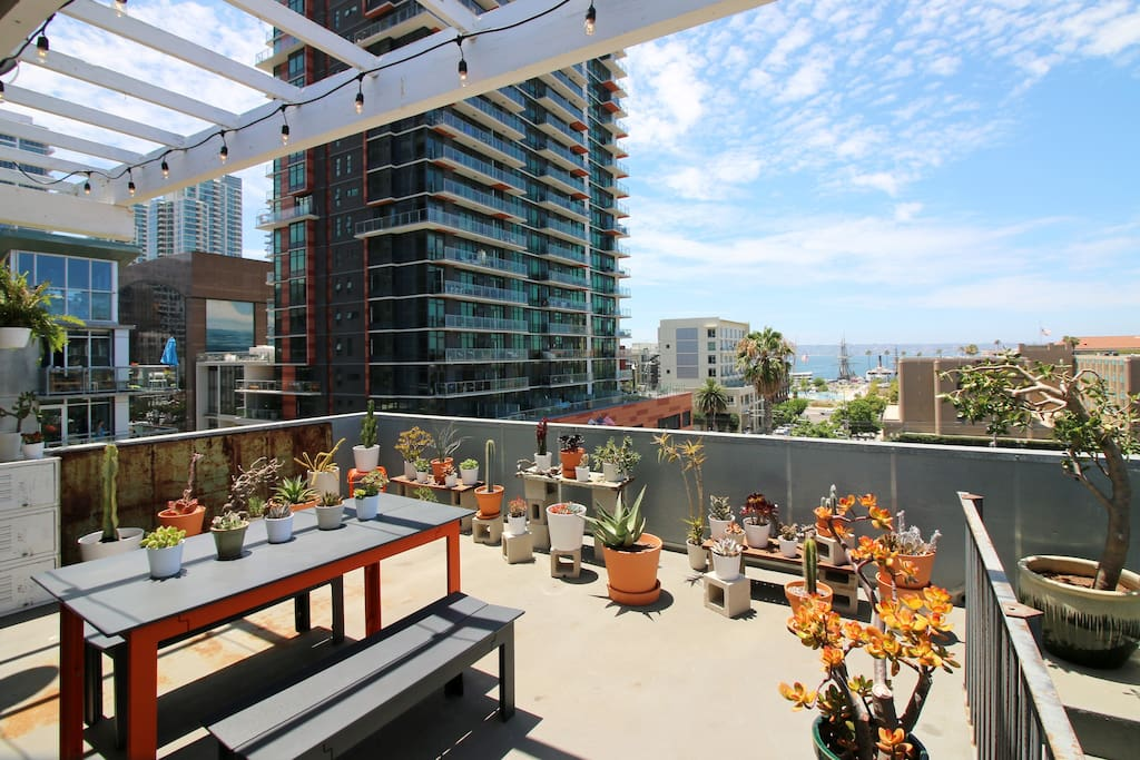 Urban treehouse downtown san diego lofts for rent in - Loft industriel san diego californie ...