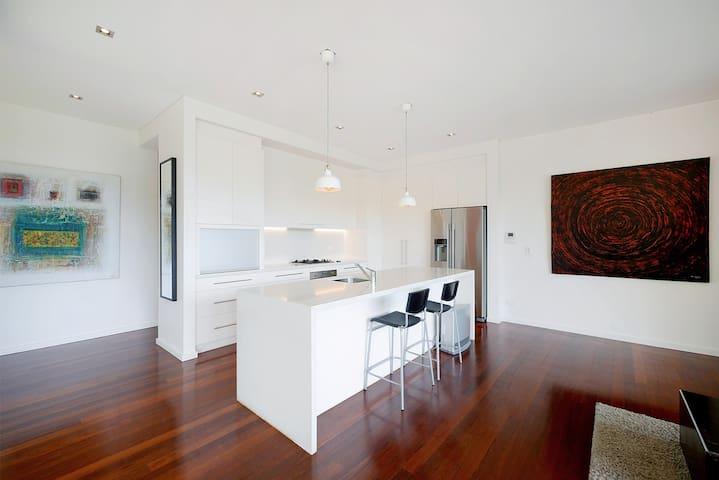 Kitchen with Smeg appliances