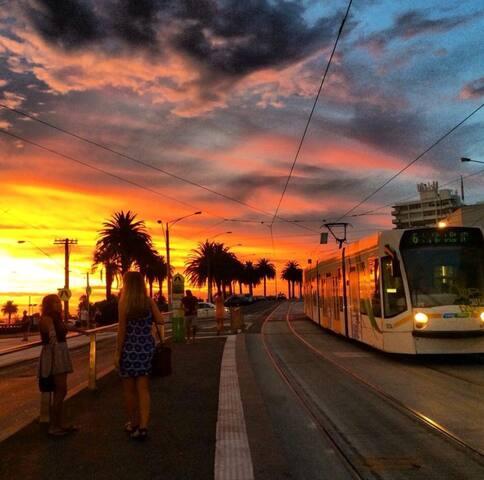Esplanade sunsets twilight