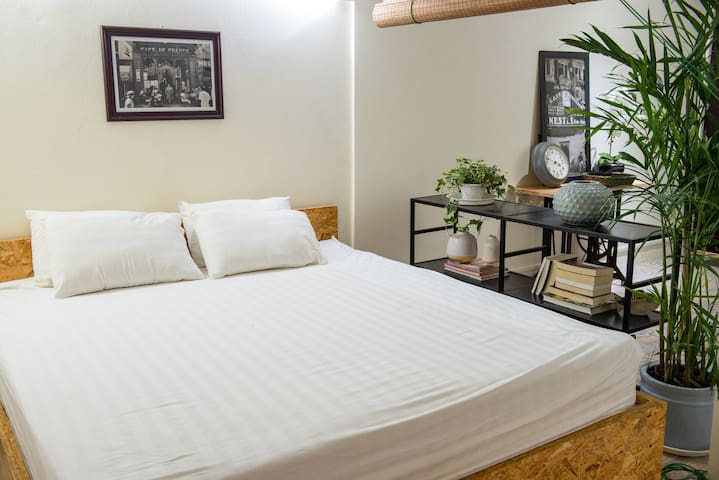 We offer 2 spacious King-size beds