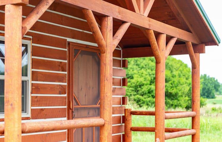 New Log Cabin At Big Muddy Brewing - Cabin #2