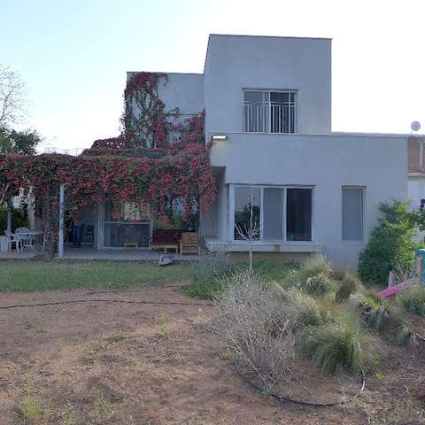 Charming largehouse near the fields - Even Yehuda - Casa