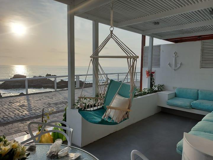 casa Playa frente al Mar