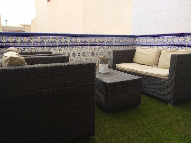 Fantástico apartamento con solárium