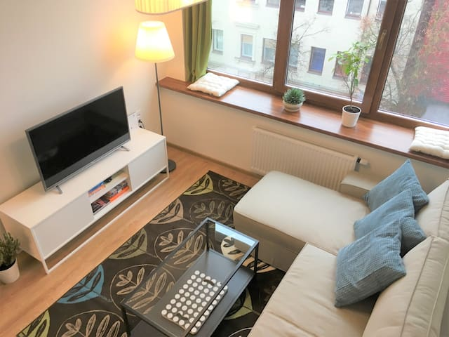 S16 cozy city center apartment 500m from old town