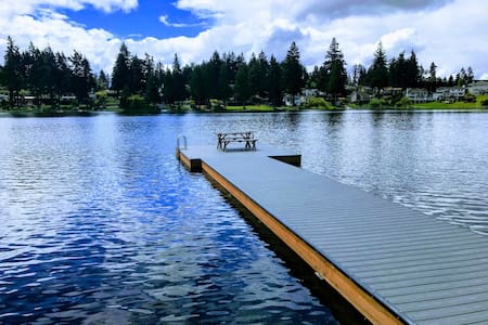 Modern Lake House (Main House), Steel Lake
