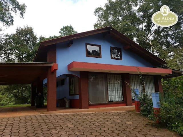 Villa En el Bosque de Niebla en Coatepec