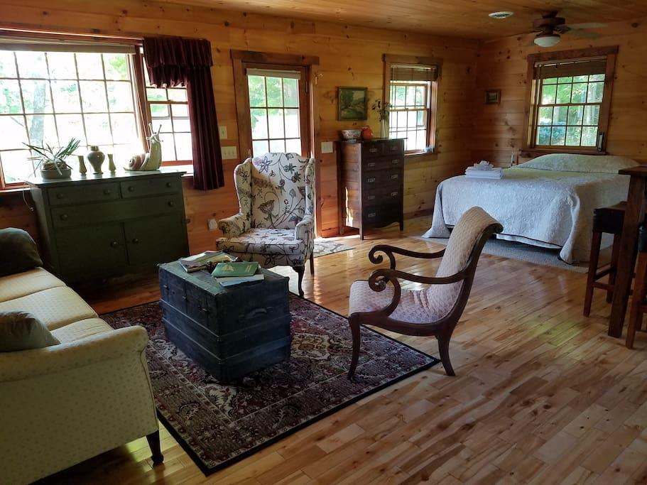 Elegant yet cozy interior