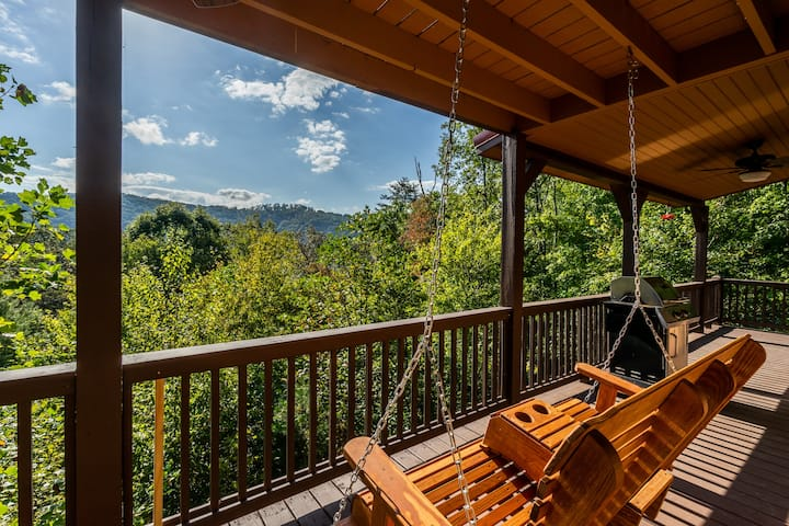 ❤️ Calico Cabin Mtn Views! Hot tub, Firepit, pets!