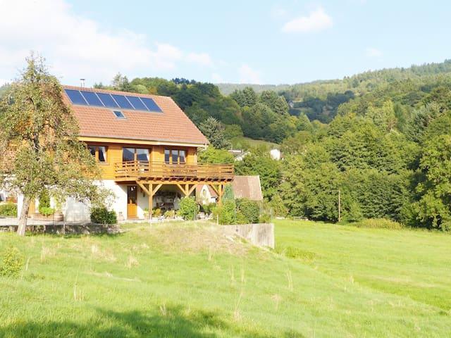 Chalet Rebberg 2/8 pers. Alsace vallée de Munster
