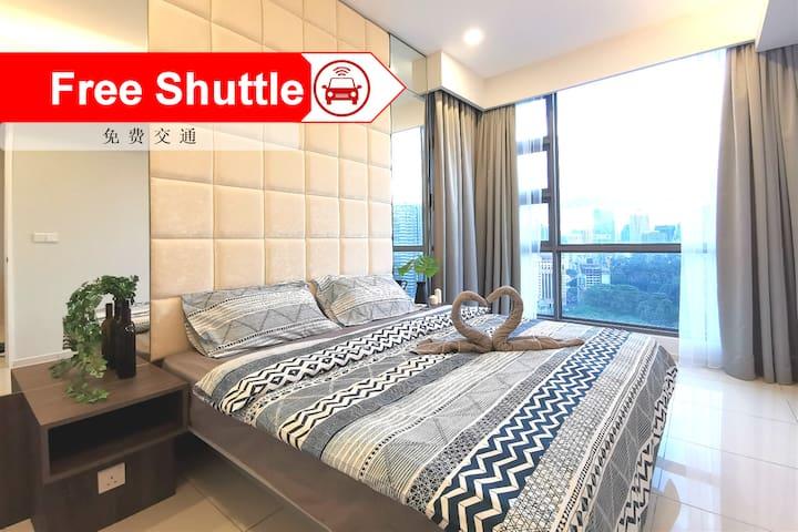 【Bukit Bintang】 Luxury Home for 4pax - G