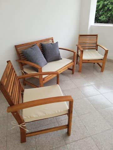 veranda -salottino