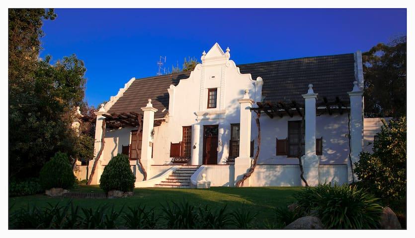 Mooiplaas Manor House 1833, the Buitekamer