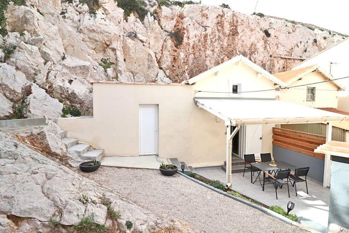 Les Goudes, Marseille Spacieux Cabanon,13008