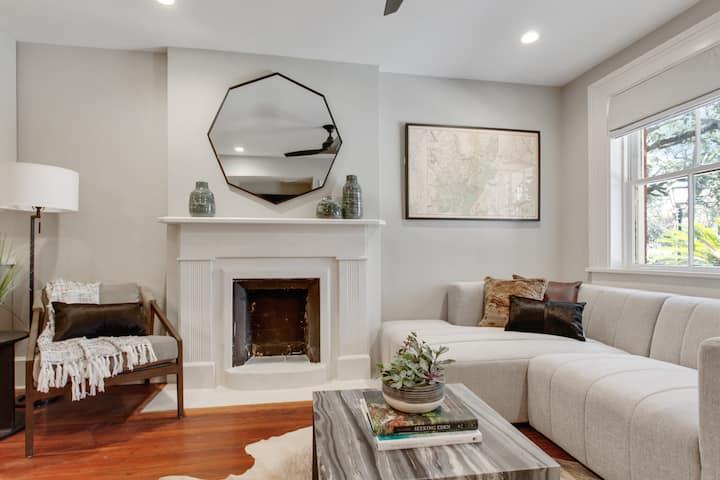 Elegant, Fresh Historic Home
