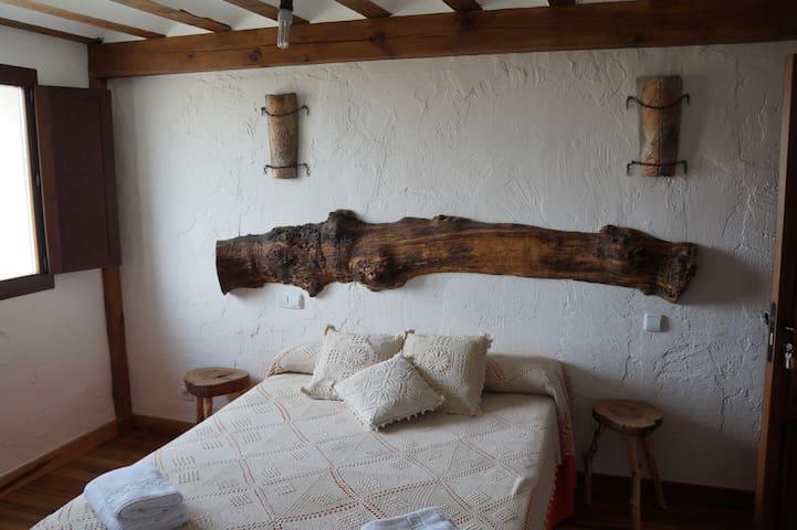 Habitación doble con baño privado - Olmos de Atapuerca - Huis