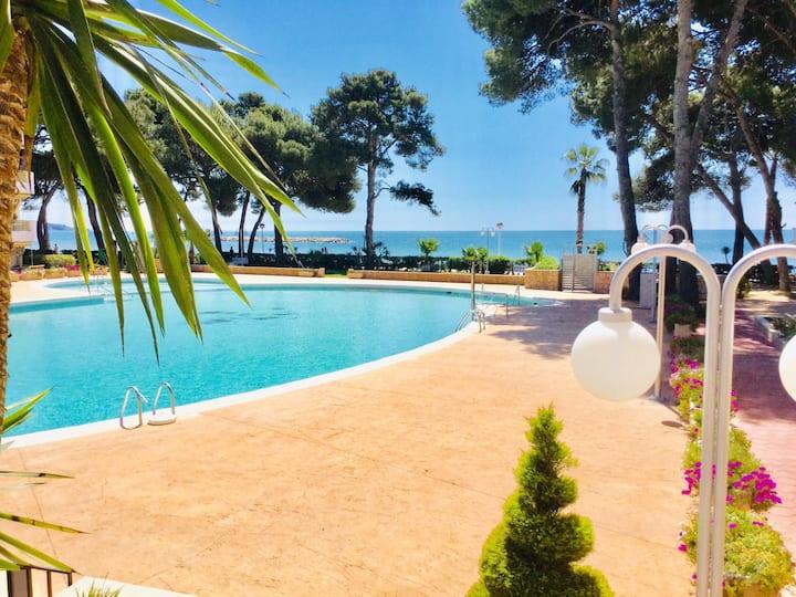 Apartamento en primera linea de playa Cambrils 1
