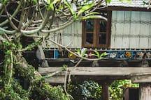 UNIQUE SUMATRAN KARO HOUSE
