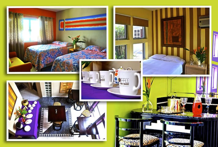 Coffee Bed & Breakfast - San Pedro Sula - Aamiaismajoitus