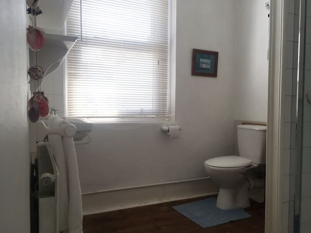 Exclusive use of bathroom next to your room