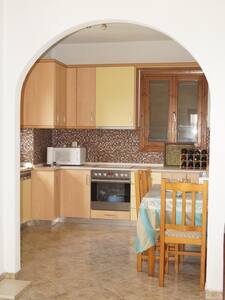 FULLY EQUIPPED APARTMENT WITH VIEW - Agios Nikolaos - บ้าน