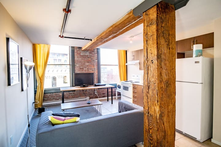 Central Loft in Historic Gastown 30 Days plus