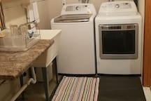 Washer & Dryer Room