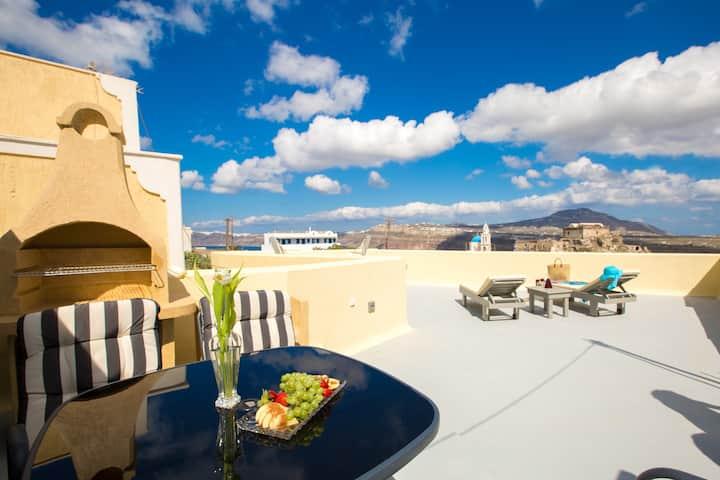 Villa with beautiful views - jacuzzi & hammam