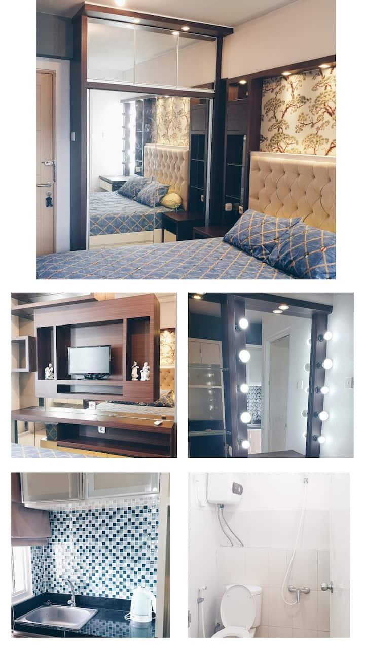 Educity Studio Apartment, Cozy & clean, Pool View