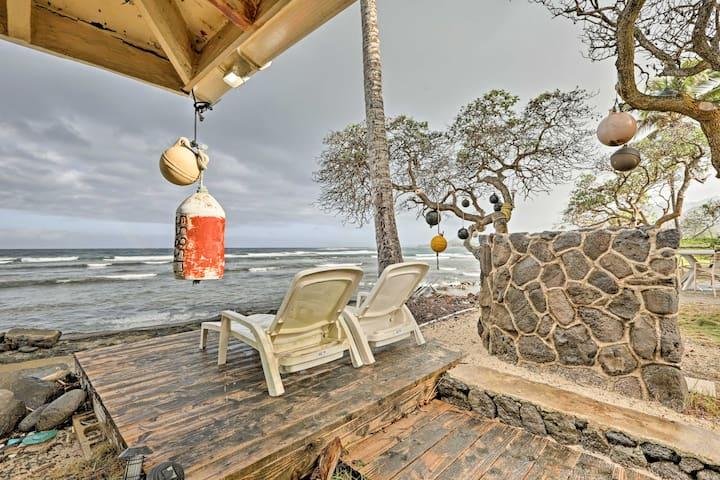 Scenic Hauula Studio Apartment on the Ocean!