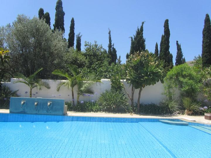 Mondello Ensuite Bedroom with Luxury Private Pool