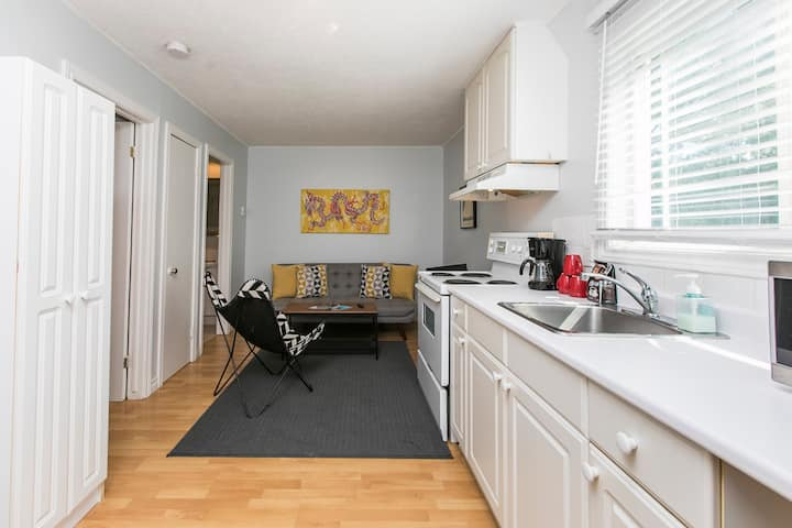Charming One Bedroom w/Laundry - Mins to Downtown!
