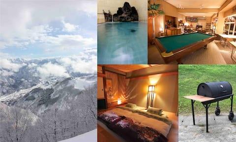 Ski-In Private Hotspring Chalet Trax Nunoba