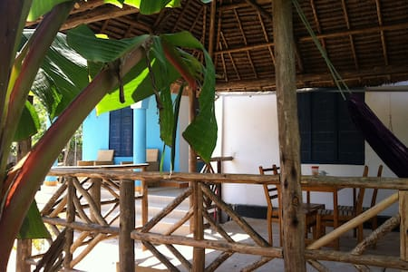 Nuru's place, the blue room! - Dar es Salaam