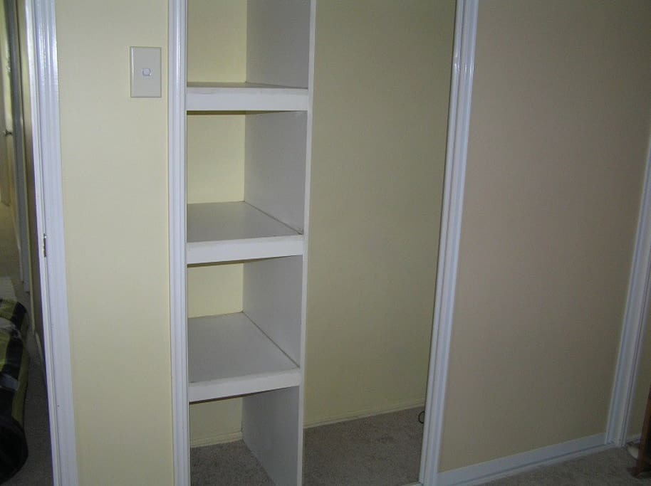 Wardrobe/shelving