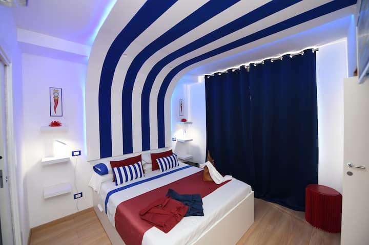 Elegant rooms in the historical center of Sorrento