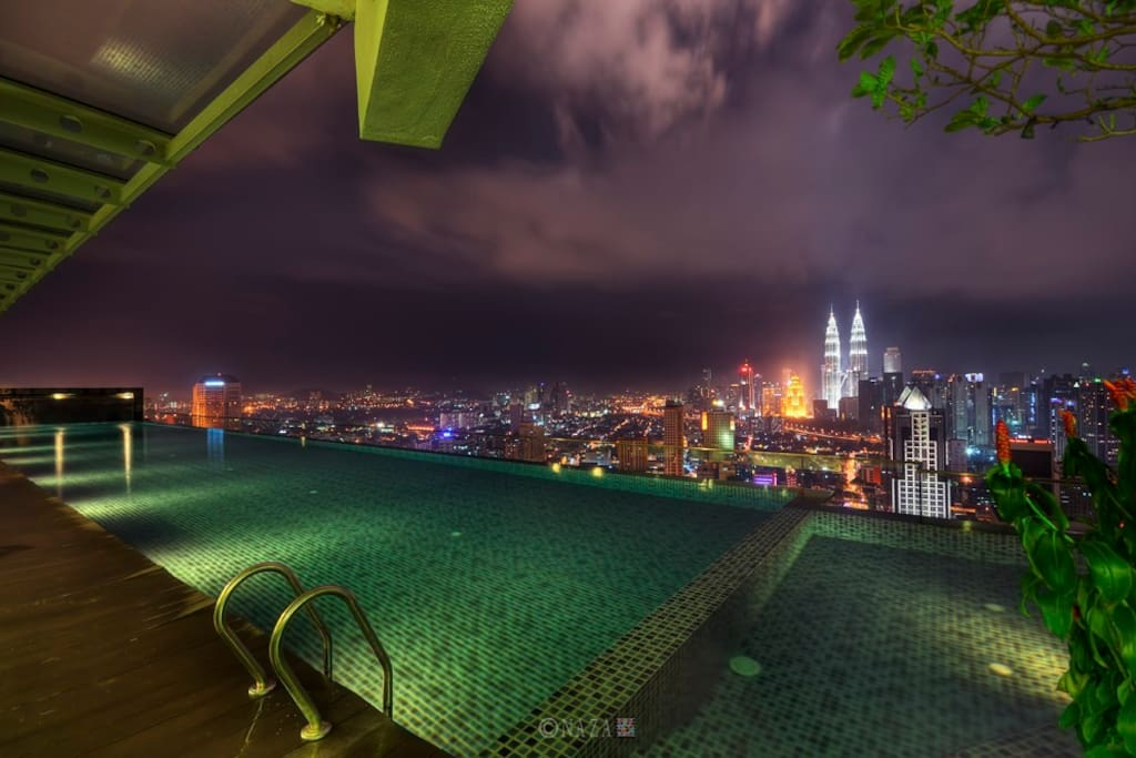 KL City View and Infinity Pool